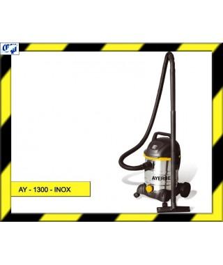 ASPIRADOR PROFESIONAL INDUSTRIAL AY - 1300 - INOX AYERBE