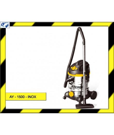 ASPIRADOR PROFESIONAL INDUSTRIAL 1500 - INOX AYERBE