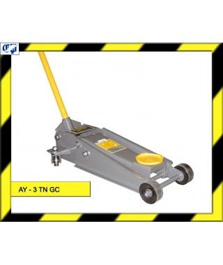 GATO HIDRAULICO CARRETILLA AY-3 TN GC AYERBE