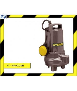 ELECTROBOMBA SUMERGIBLE - AY - 1035 VXC MN - AYERBE