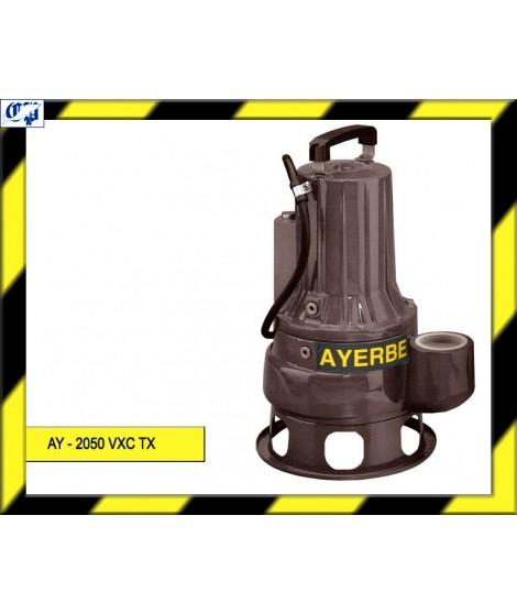 ELECTROBOMBA SUMERGIBLE - AY - 2050 VXC TX - AYERBE