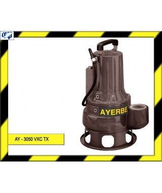 ELECTROBOMBA SUMERGIBLE - AY - 3050 VXC TX - AYERBE