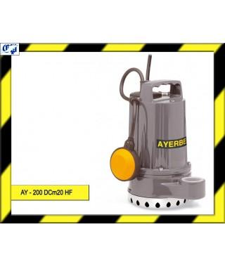 ELECTROBOMBA SUMERGIBLE - AY - 200 DCm20 HF - AYERBE