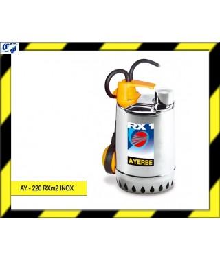 ELECTROBOMBA SUMERGIBLE - AY - 220 RXm2 INOX - AYERBE