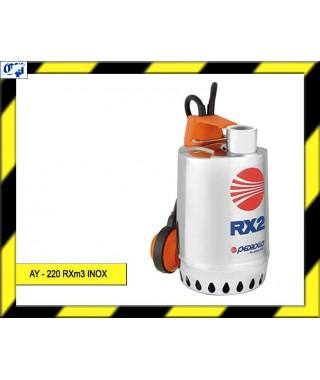 ELECTROBOMBA SUMERGIBLE - AY - 220 RXm3 INOX  - AYERBE