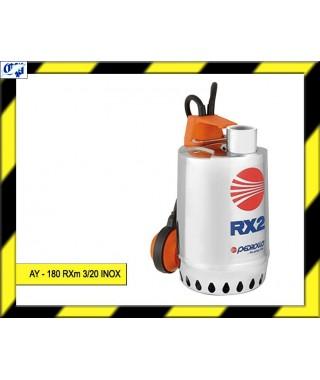ELECTROBOMBA SUMERGIBLE - AY - 180 RXm3/20 INOX  - AYERBE