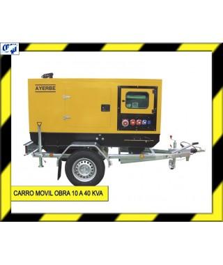 CARRO MOVIL OBRA DE 10 A 40 KVA - AYERBE