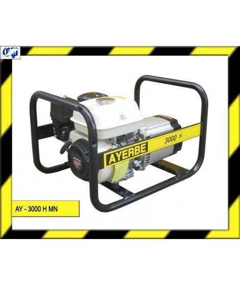 Generador honda gasolina ay 3000 h mn ayerbe comprar for Generador gasolina barato