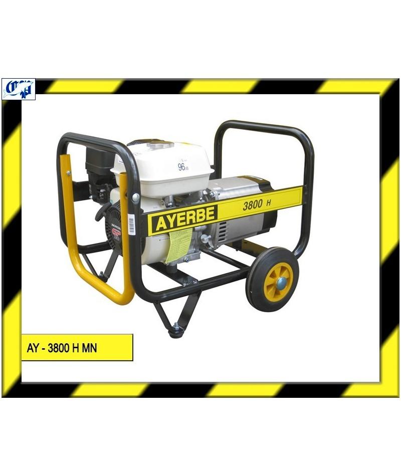 Generador honda gasolina ay 3800 h mn ayerbe comprar for Generador gasolina barato