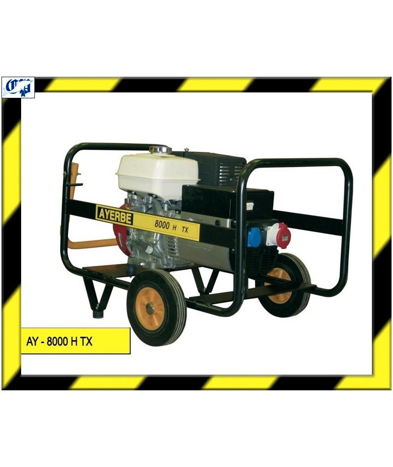 Generador honda gasolina ay 8000 h tx ayerbe comprar for Generador gasolina barato