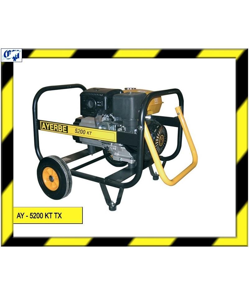 Generador kiotsu gasolina ay 5200 kt tx ayerbe for Generador gasolina barato